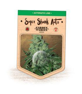 Σπόροι κάνναβης - Super Skunk Auto (Garden of Green)