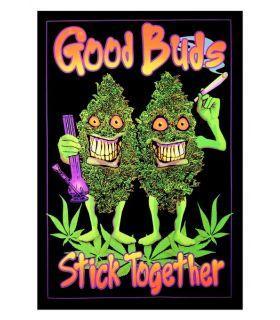 Σπόροι κάνναβης - UV Poster - Good Buds