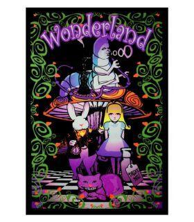 Σπόροι κάνναβης - UV Poster - Alice Wonderland