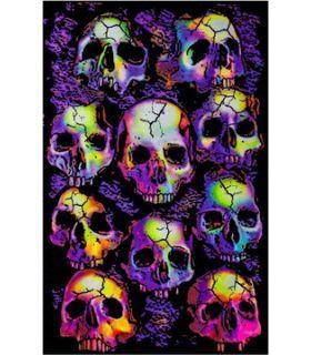 Σπόροι κάνναβης - UV Poster - Wall Of Skulls