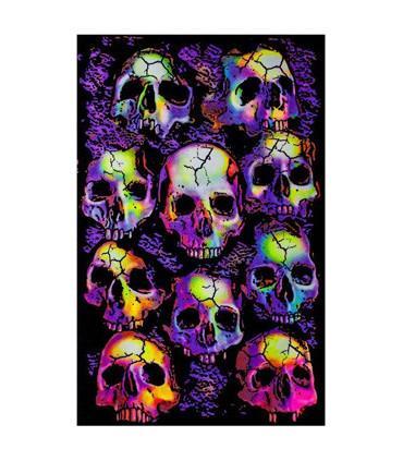 UV Poster - Wall Of Skulls