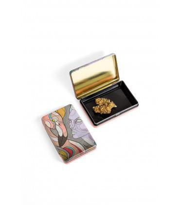 Tin Box - Tropic Geometric
