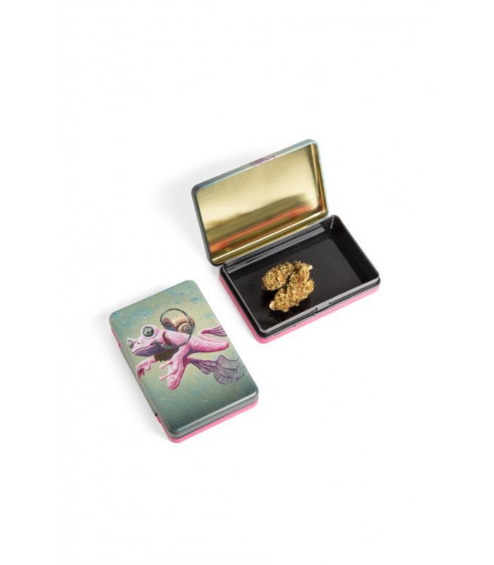 Μεταλλικό κουτί - Cannabis Frog