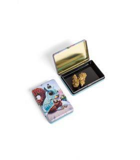 Σπόροι κάνναβης - Μεταλλικό κουτί - Squirrel & Flowers