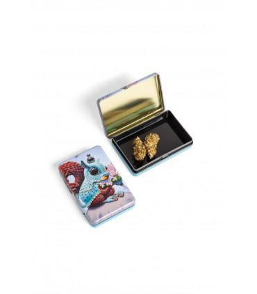Μεταλλικό κουτί - Squirrel & Flowers