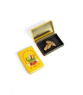 Σπόροι κάνναβης - Μεταλλικό κουτί - Stand Out (Κίτρινο)