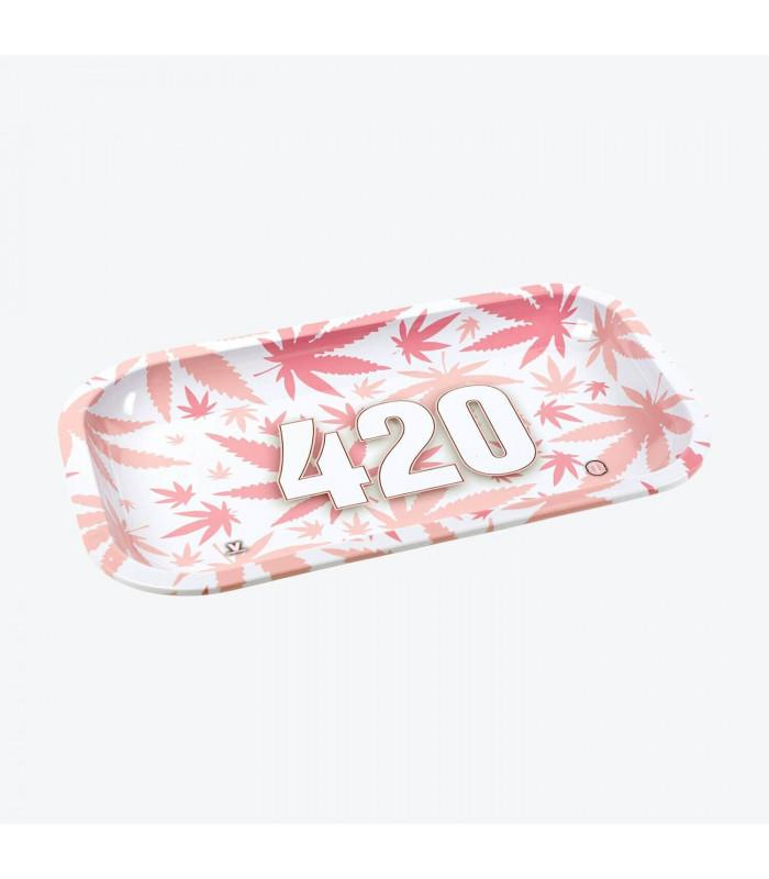 Δίσκος στριψίματος V-Syndicate (μεταλλικός) - 420 Pink - 27x16εκ