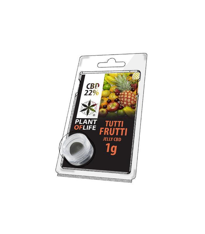 Plant of Life - CBD Jelly 22% Tutti Frutti