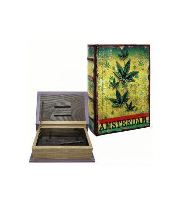 Stash book Leaf Design