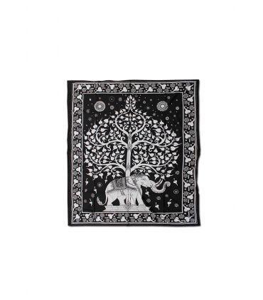 Πανό μπατίκ Elephant Tree