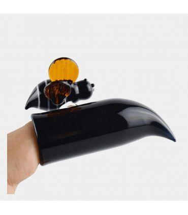 Γυάλινο dabber με μέλισσα