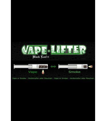 """Vape Lifter"" Γυάλινο πιπάκι/ατμοποιητής Black Leaf"