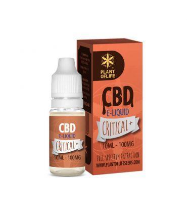 E-Liquid CBD 1% Critical+ Plant of Life