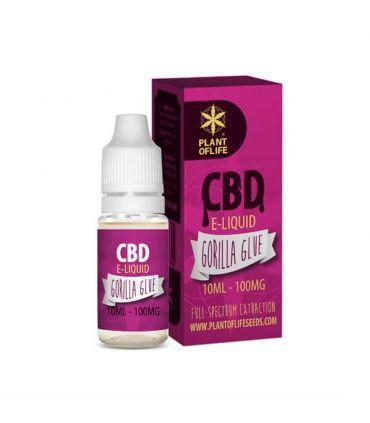 copy of E-Liquid CBD 1% Gorilla Glue Plant of Life