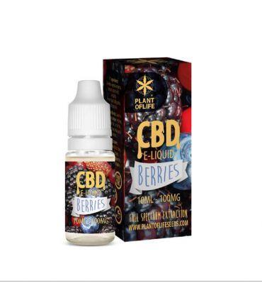 E-Liquid CBD 1% Berries Plant of Life