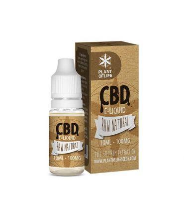 E-Liquid CBD 1% Natural Plant of Life