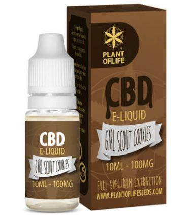 E-Liquid CBD 1% Girl Scout Cookies Plant of Life