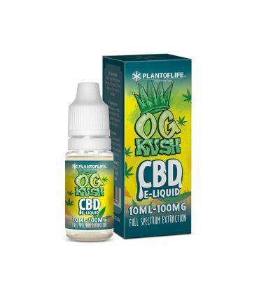 E-Liquid CBD 1% OG Kush Plant Of Life