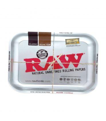Δίσκος στριψίματος RAW - Ασημί - μεσαίος  (27,5x17,5εκ)