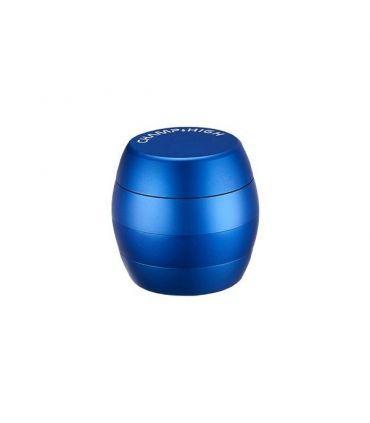 Grinder Αλουμινίου 4 μέρη - χρώμα μπλε